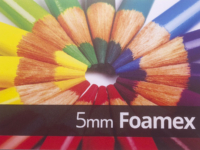 5mm Foamex
