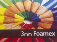 3mm Foamex